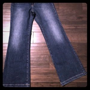 Gap high waist flare jean